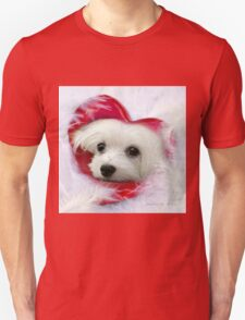 Snowdrop the Maltese - Forever in my Heart T-Shirt