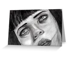 Miss Mia Wallace  Greeting Card