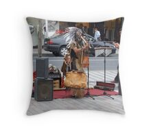 THE INDIANS HAVE ARRIVED IN CORK! Throw Pillow