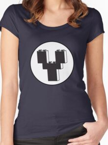 THE LETTER Y  Women's Fitted Scoop T-Shirt