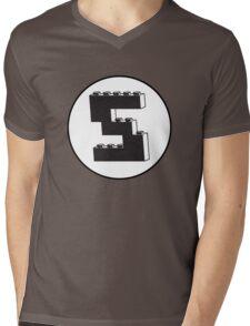 THE LETTER S Mens V-Neck T-Shirt