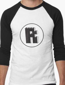 THE LETTER R Men's Baseball ¾ T-Shirt