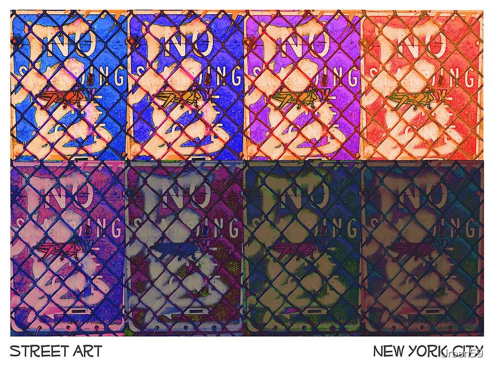 """City GrassHopper"" by NYC Artist Alexander Aristotle by Urban59"