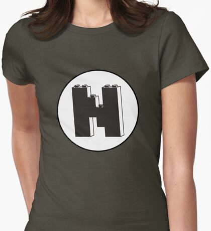 THE LETTER N  Womens Fitted T-Shirt