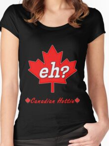 Canada Eh? Women's Fitted Scoop T-Shirt