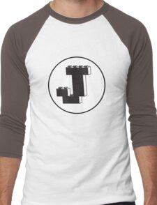 THE LETTER J  Men's Baseball ¾ T-Shirt