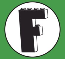 THE LETTER F Kids Tee