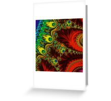 Fabulous Fractals | My Mother's Dress Greeting Card