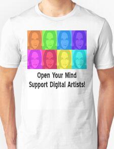 Support Digital Artists (Custom) T-Shirt
