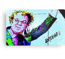 Bringo! Dr. Steve Brule Design by SmashBam Metal Print