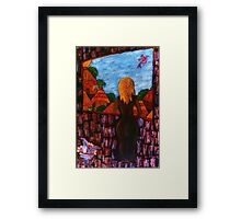 """Study to """"Waiting"""" Framed Print"""