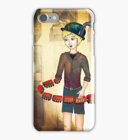 Boyhood Train iPhone Case/Skin
