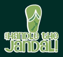 Just handle the jandal funny kiwi New Zealand saying by jazzydevil