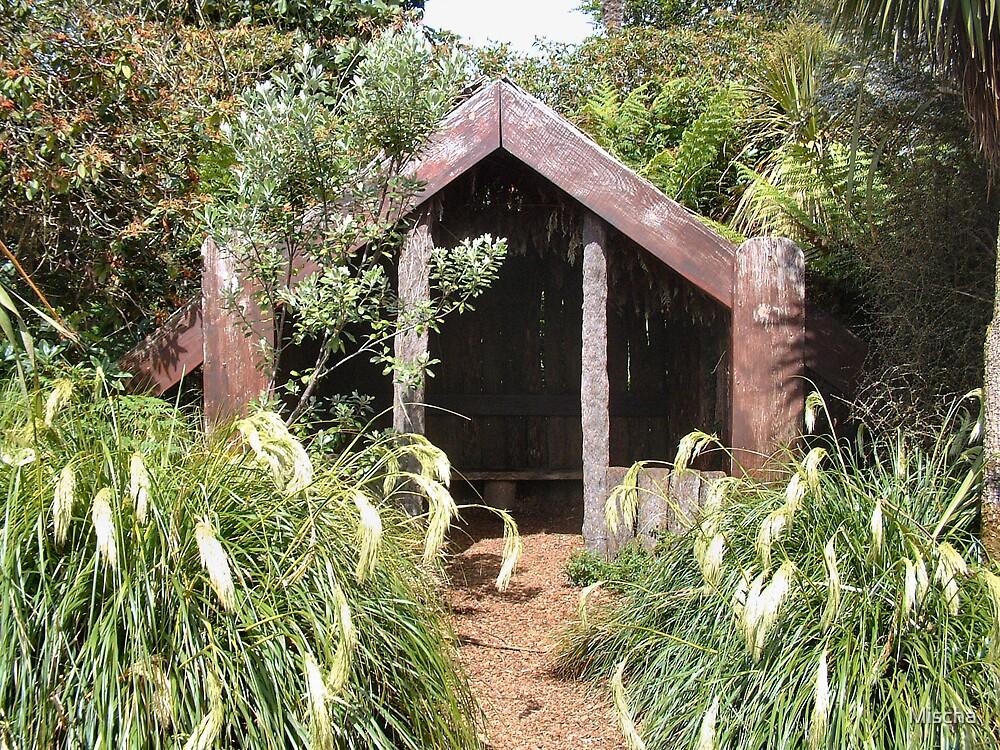 Ye Wooden Hut by Mischa