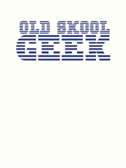 OLD SKOOL ibm GEEK by jazzydevil