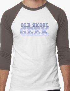 OLD SKOOL ibm GEEK Men's Baseball ¾ T-Shirt
