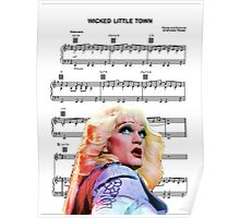 Wicked Little Town - Hedwig Poster