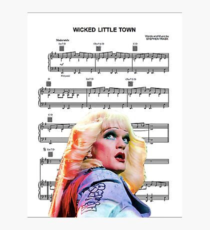 Wicked Little Town - Hedwig Photographic Print