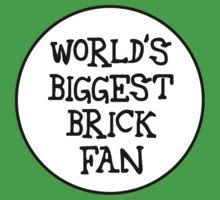 WORLD'S BIGGEST BRICK FAN One Piece - Short Sleeve