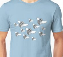 Toasters with wings. Unisex T-Shirt