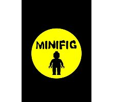 MINIFIG Photographic Print