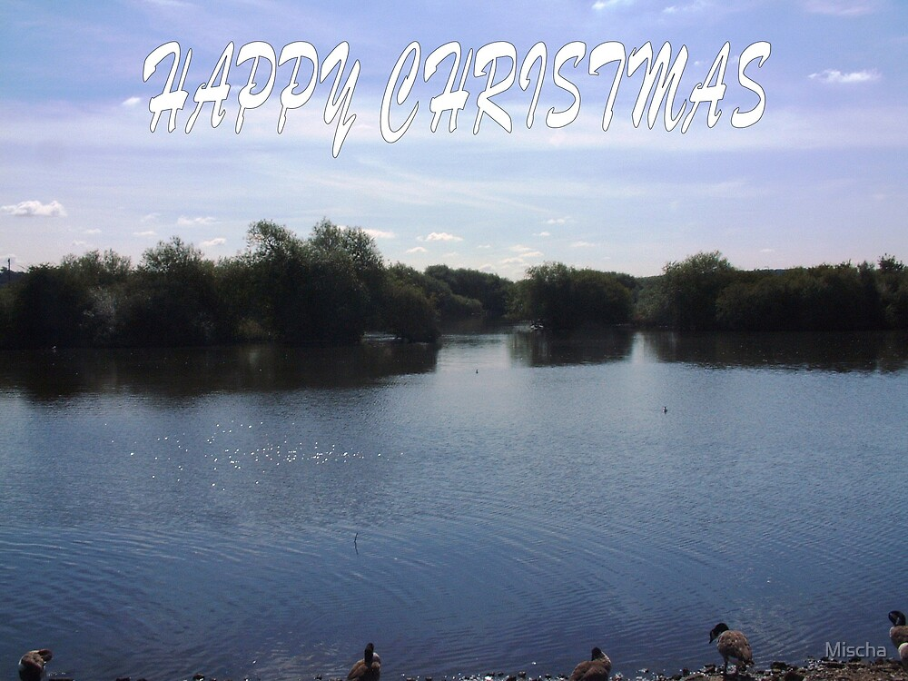 Christmas card by Mischa