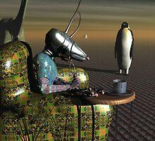 Evening TV and Snacks by FlickerLightStudio