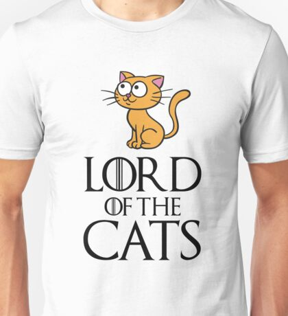 Lord Cats Unisex T-Shirt