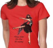Dance  Tee Womens Fitted T-Shirt