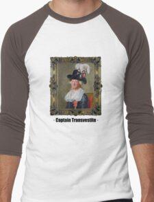 Captain Transvestite Men's Baseball ¾ T-Shirt