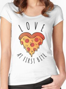 Love At First Bite Women's Fitted Scoop T-Shirt