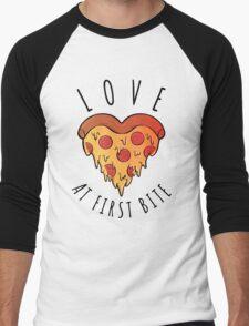 Love At First Bite Men's Baseball ¾ T-Shirt