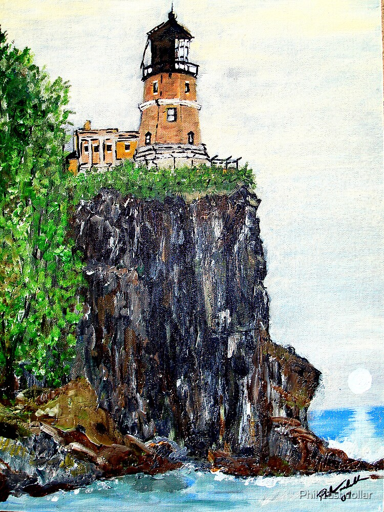 Split Rock Lighthouse by Phil Cashdollar