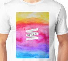 sunset banner Unisex T-Shirt