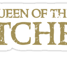 Queen of the KITCHEN Sticker