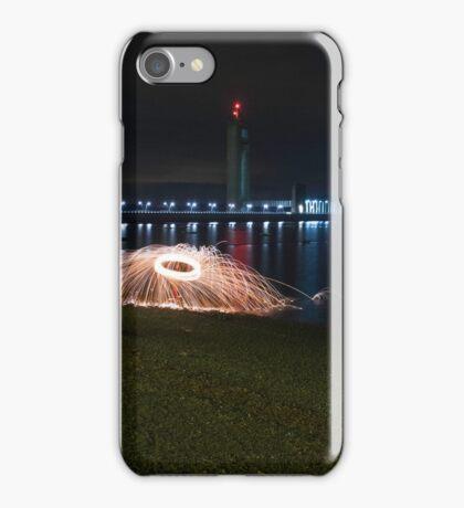 Manon Spinning - La Platte Taille iPhone Case/Skin