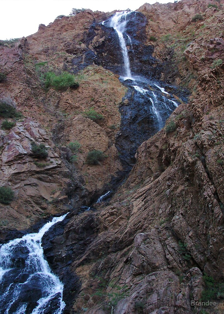 12th street canyon waterfall by Brandee