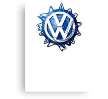 VW look-a-like logo  Canvas Print