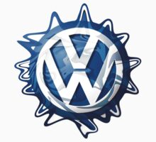 VW look-a-like logo  Kids Clothes