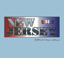 New Jersey - BB62 by Harry Murray