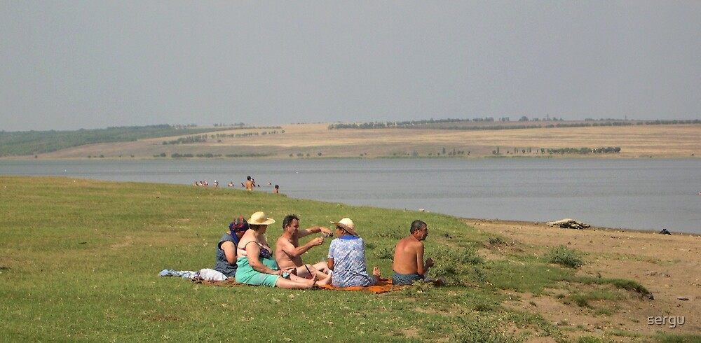 picnic at lake by sergu