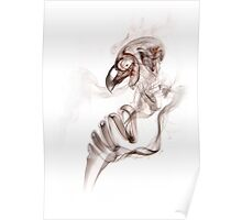 Smoke bird ghost Poster