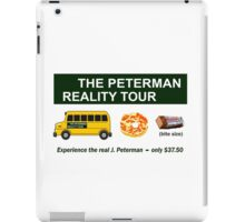 The Real Peterman Reality Bus Tour Shirt Seinfeld iPad Case/Skin