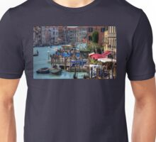 The Busy Grand Canal Unisex T-Shirt