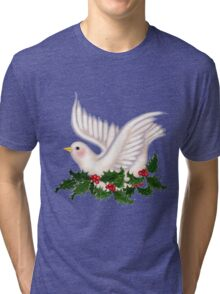 Dove and Holly Tri-blend T-Shirt