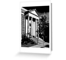 Post Office McMinnville Tennessee Greeting Card