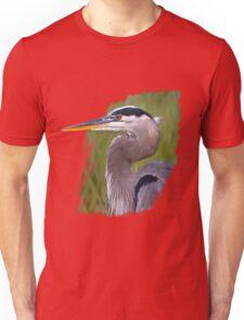 Kingly Blue Heron T-Shirt Unisex T-Shirt