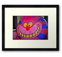 Cheshire charm Framed Print