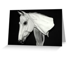 The Horse Head Bust Greeting Card