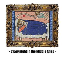 Crazy night in the Middle Ages Photographic Print